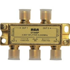 RCA 4 Way 24 Ghz Splitter