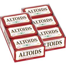 Altoids Peppermint Mint Tin 176 Oz