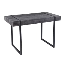SEI Harkriven 46 W Desk Black