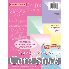 Pacon Card Stock Letter Paper Size