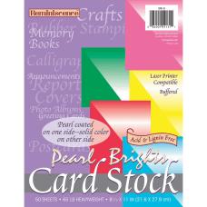 Pacon Inkjet Laser Card Stock Rojo