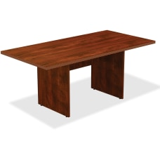 Lorell Rectangle Conference Table 6W Cherry