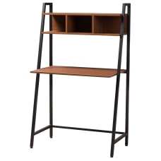 Baxton Studio 3 Shelf Writing Desk