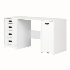 South Shore Artwork Rectangle Sewing Table