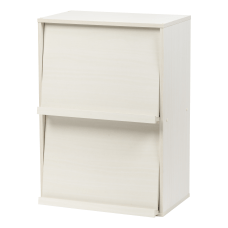 IRIS Wood Shelf With Pocket Doors