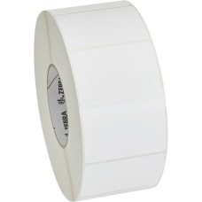 Zebra Label Polypropylene 3 x 2in