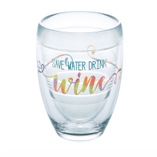 Tervis Wine Glass 9 Oz Save