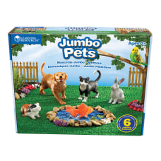 Learning Resources Jumbo Pets Grades Pre