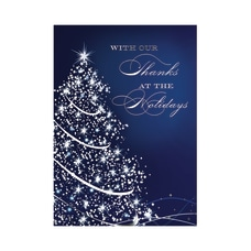 Custom Embellished Holiday Cards And Foil