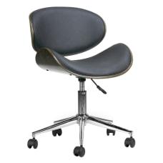 Glamour Home Amar Task Chair Dark