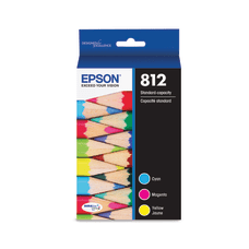 Epson T812 3 pack yellow cyan
