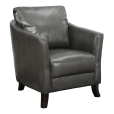 Monarch Specialties Naomi Accent Chair Charcoal