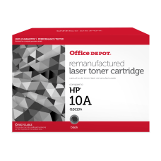 Office Depot Brand 10A Remanufactured Black