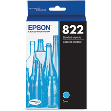 Epson T822 Original Ink Cartridge Cyan