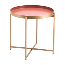 Zuo Modern Red Short End Table