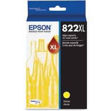 Epson T822 Original Ink Cartridge Yellow