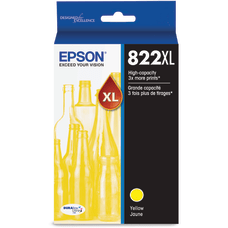 Epson T822 Yellow original ink tank