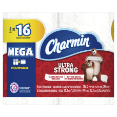 Charmin Ultra Strong 2 Ply Toilet