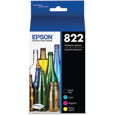 Epson T822 4 pack black yellow