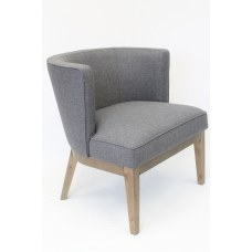 Boss Ava Accent Chair Slate GrayDriftwood