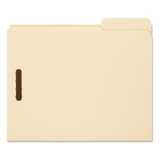 Smead Fastener Folders With Reinforced Tab