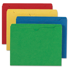 Smead Heavyweight Color File Jackets Letter