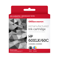 Office Depot Brand OD60XLK60C Remanufactured Ink