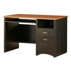 South Shore Gascony Desk Ebony and