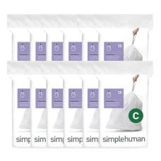 simplehuman Code C Custom Fit Can
