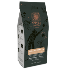 Copper Moon Coffee Ground Coffee Caramel