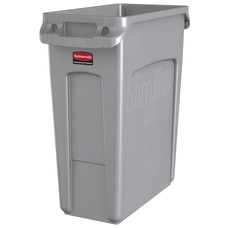 Rubbermaid Slim Jim Rectangular Plastic Vented