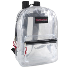 Trailmaker Clear Backpacks Assorted Colors Pack