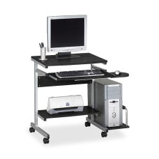 Eastwinds Portrait PC Desk Cart AnthraciteMetallic