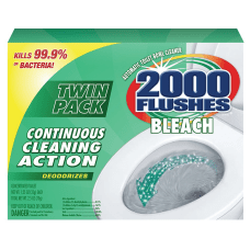 2000 Flushes Chlorine Automatic Bowl Cleaner