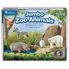 Learning Resources Jumbo Figures Zoo Animals