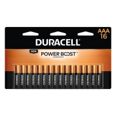 Deals on 16-Pk Duracell Coppertop AAA Alkaline Batteries + 100% Back in Rewards