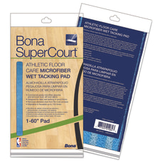 Bona SuperCourt Athletic Floor Care Microfiber