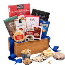 Gourmet Gift Baskets Classic Snacks Gift
