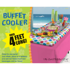 Amscan Summer Luau Buffet Cooler 4