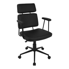 LumiSource Sigmund Office Chair Black
