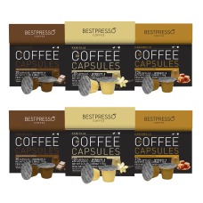 Bestpresso Single Serve Coffee Capsules Variety