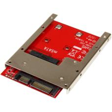 StarTechcom mSATA SSD to 25in SATA