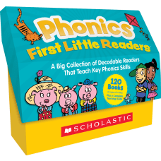 8Scholastic Phonics First Little Readers Classroom