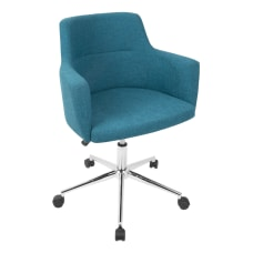 Lumisource Andrew Office Chair Teal