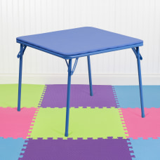 Flash Furniture Kids Folding Table Square