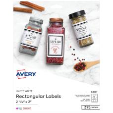 Avery Removable InkjetLaser Diskette Labels 6490
