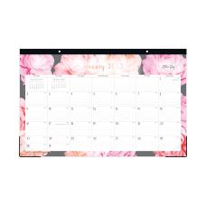 Blue Sky Monthly Desk Pad 11