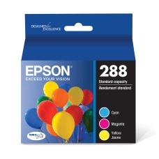 Epson DURABrite Ultra CyanMagentaYellow Ink Cartridges
