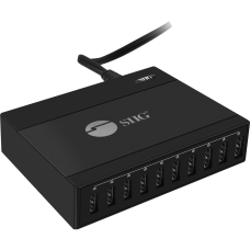SIIG 60W 10 Port USB Charger