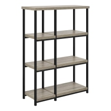 Ameriwood Home Elmwood 4 Shelf Bookcase
